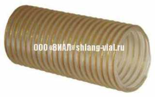 Полиуретановый воздуховод P25PU (P3SVPU)
